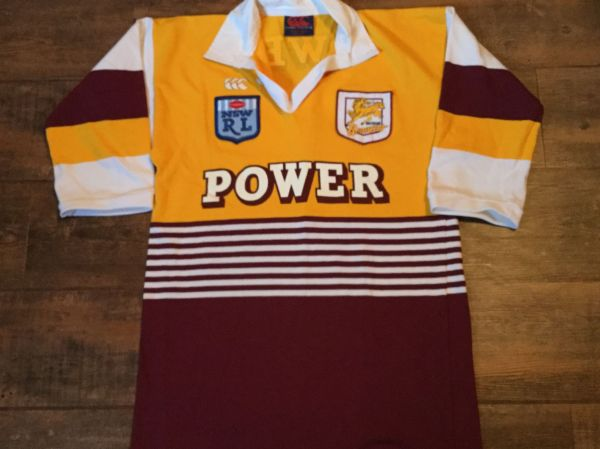 Classic Rugby Shirts Vintage Jersey 1980s Brisbane